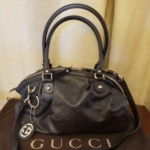 Gucci Guccissima Sukey Convertible Boston Bag
